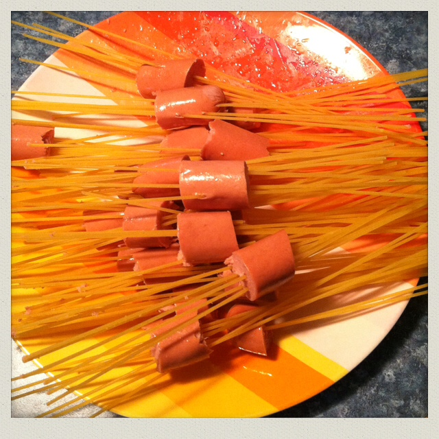 pasta-hot-dogs-raw