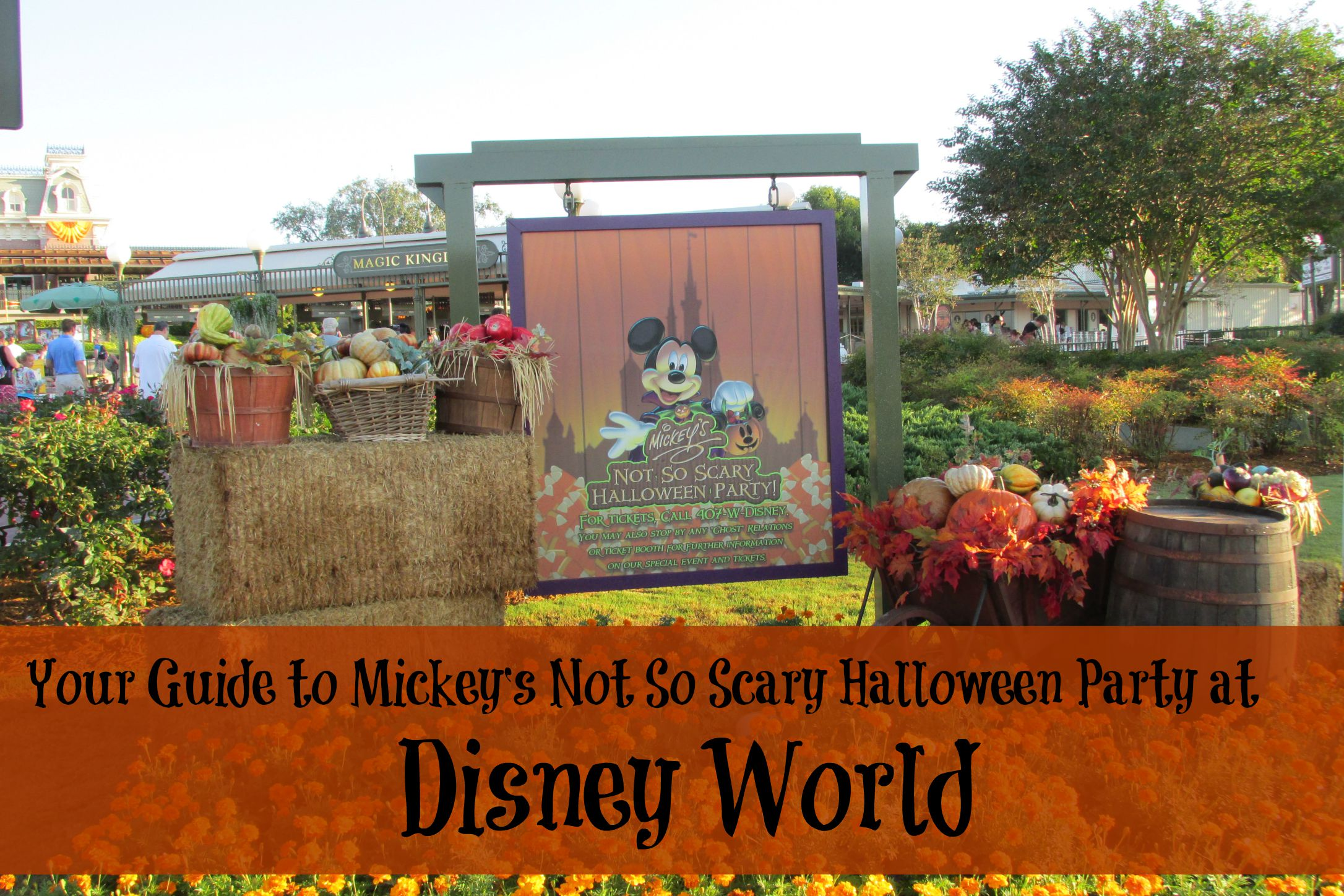Your Guide to Mickey's Not So Scary Halloween Party at Disney World