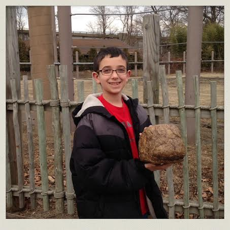 holding-elephant-poop-roger-williams-zoo-rhode-island