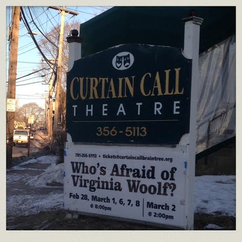 curtain-call-theater-braintree-who's-afraid-of-virginia-woolf-sign