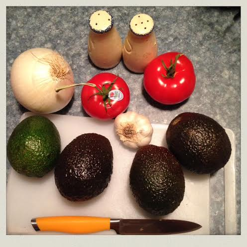 homemade-guacamole-ingredients