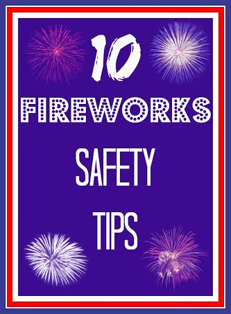 10 Fireworks Safety Tips
