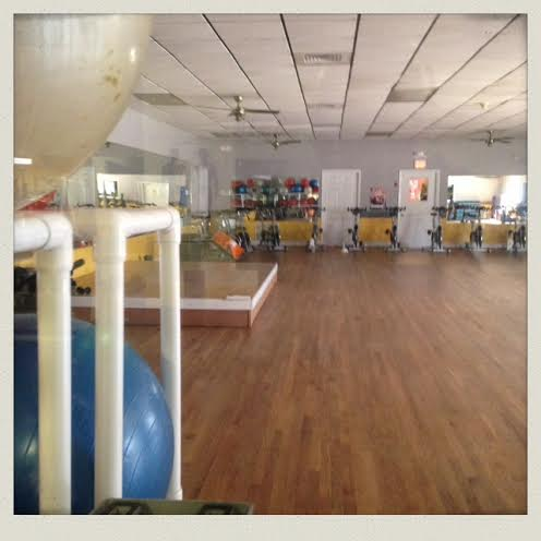 This is where I shake my booty twice a week in Zumba class!