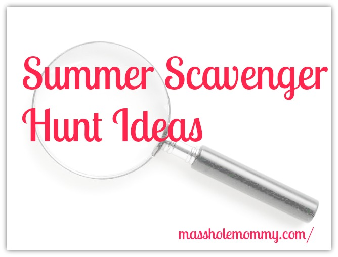 summer scavenger hunt ideas