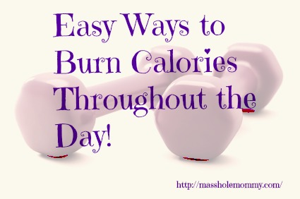easy ways to burn calories