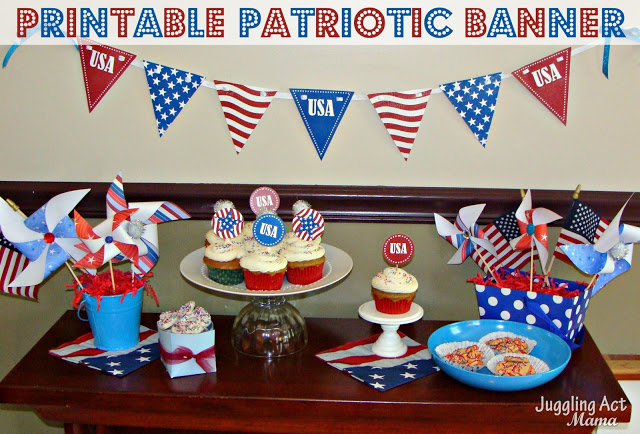 10 Patriotic Decorations Banner