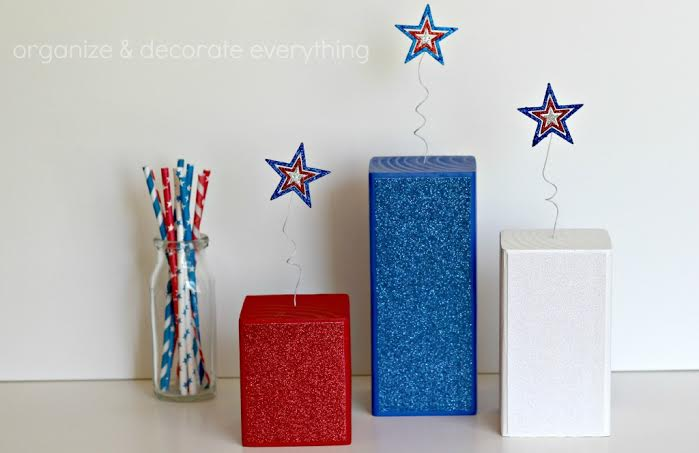 10 Patriotic Decorations Firecrackers