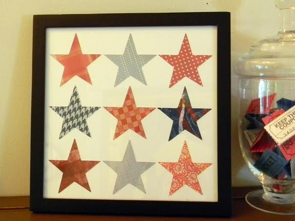 10 Patriotic Decorations Star Art