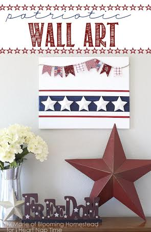 10 Patriotic Decorations Wall Art