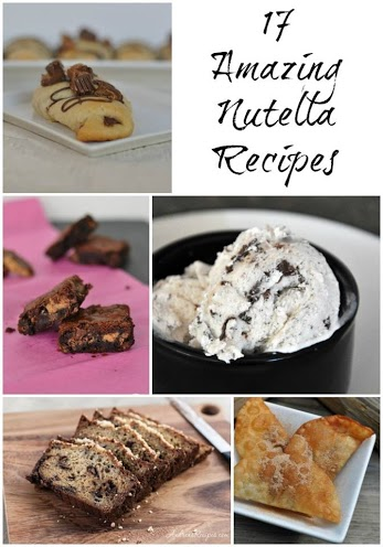 17 amazing nutella recipes