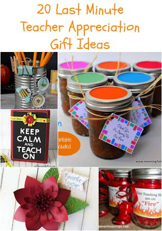 20 last minute teacher appreciation gifts