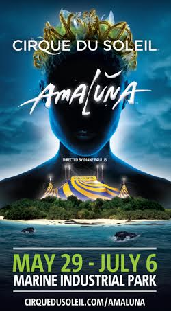 Cirque du Soleil's Amaluna in Boston on June 5th!