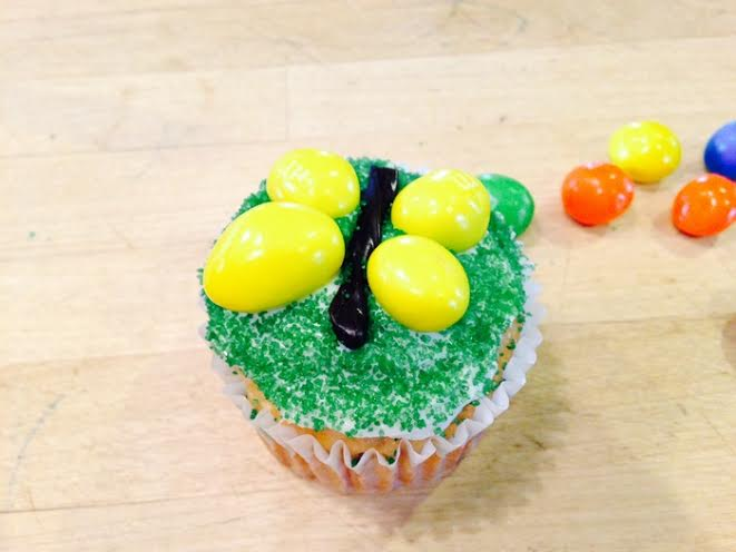 M&M Bug Cupcakes Butterfly