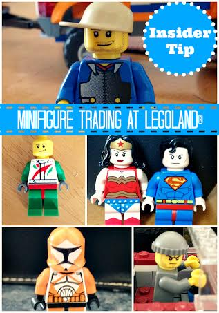 Minifigure trading at Legoland