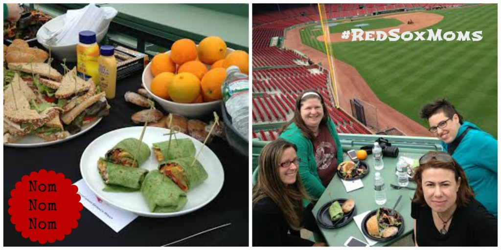 Red Sox Moms Fenway Lunch