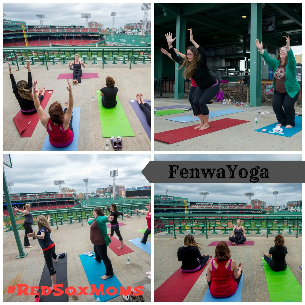 redsoxmoms fenwayoga