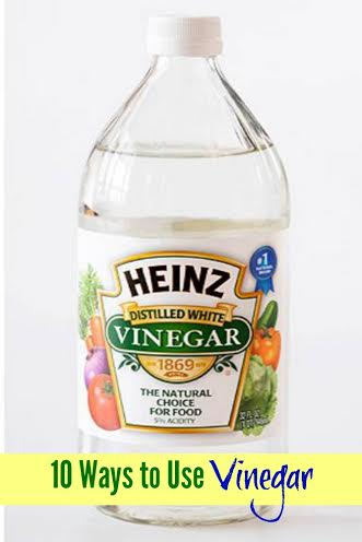 10 Ways to Use Vinegar