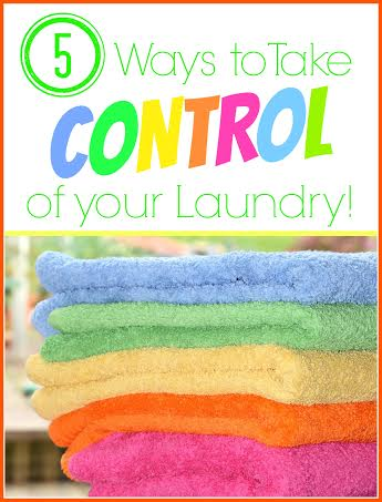 5 Ways To Take Control of Your Laundry