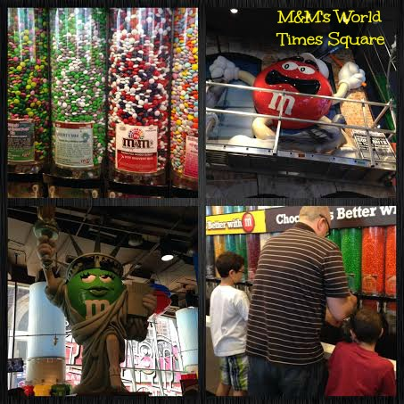 M&M World Times Square NYC
