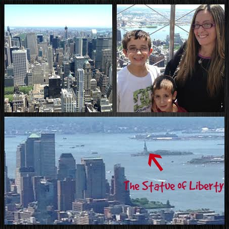 Top of the Empire State Building #NYC