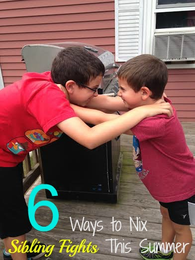 6 Ways to Nix Sibling Fights This Summer