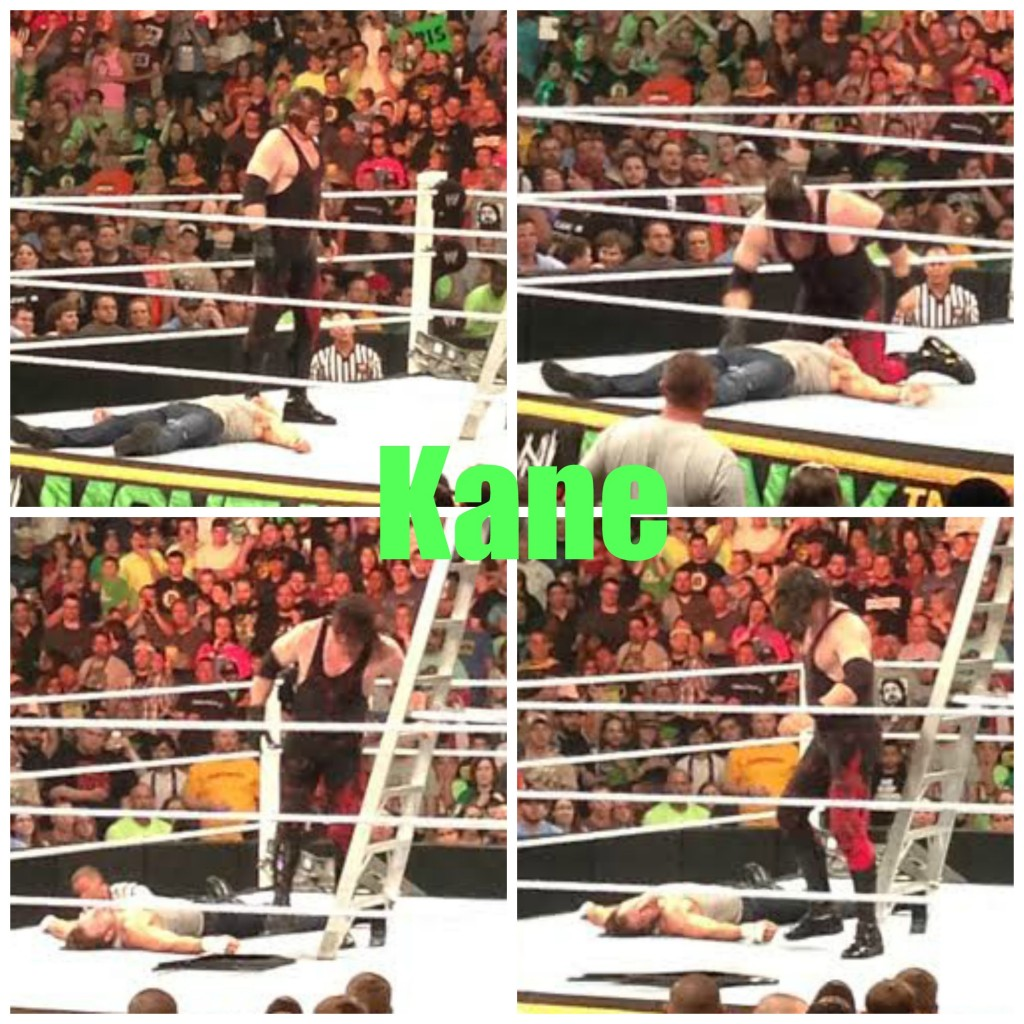 Kane ladder match wwe money in the bank