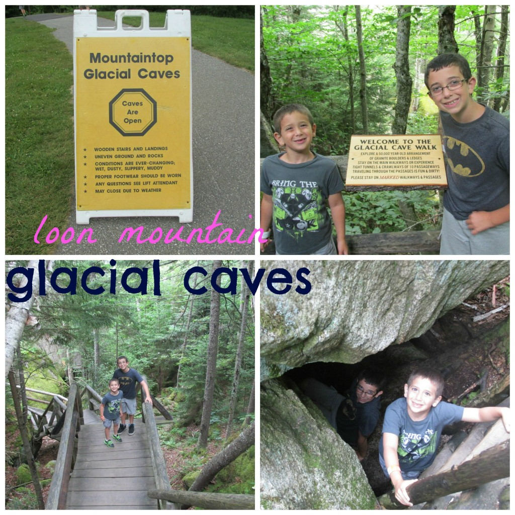 Loon Mountain Summit Glacial Caves