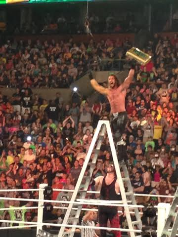 Money in the Bank ladder match winner