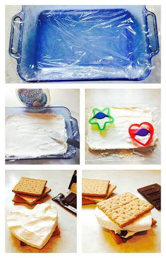 No Fire Needed Frozen Smores #recipes