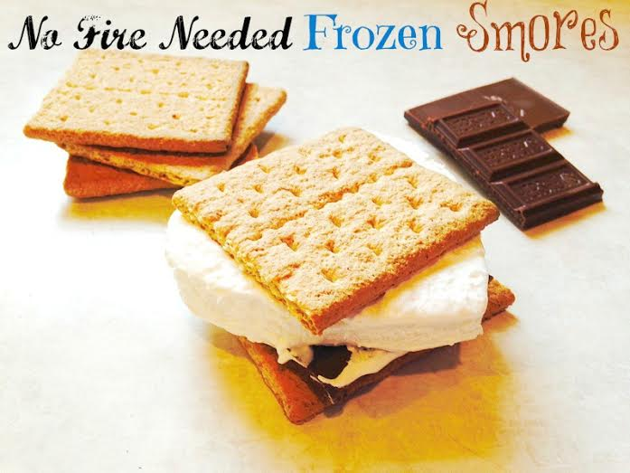 No Fire Needed Frozen Smores