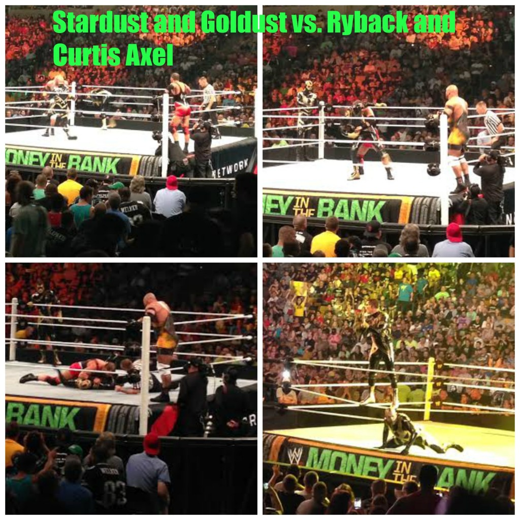 Stardust and Goldust vs. Ryback and Curtis Axel WWE