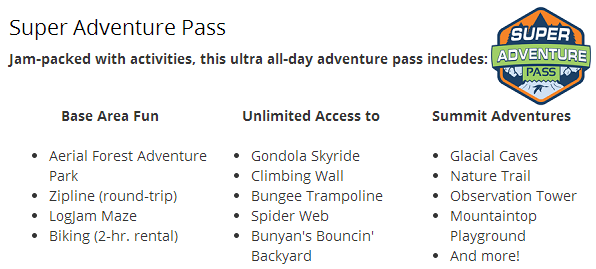 Super Adventure Pass