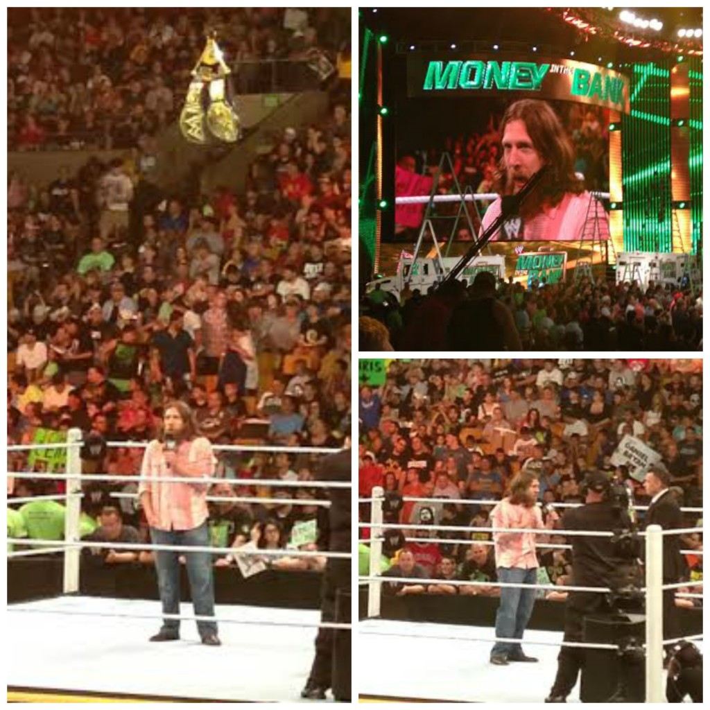 WWE Money in the Bank Daniel Bryan