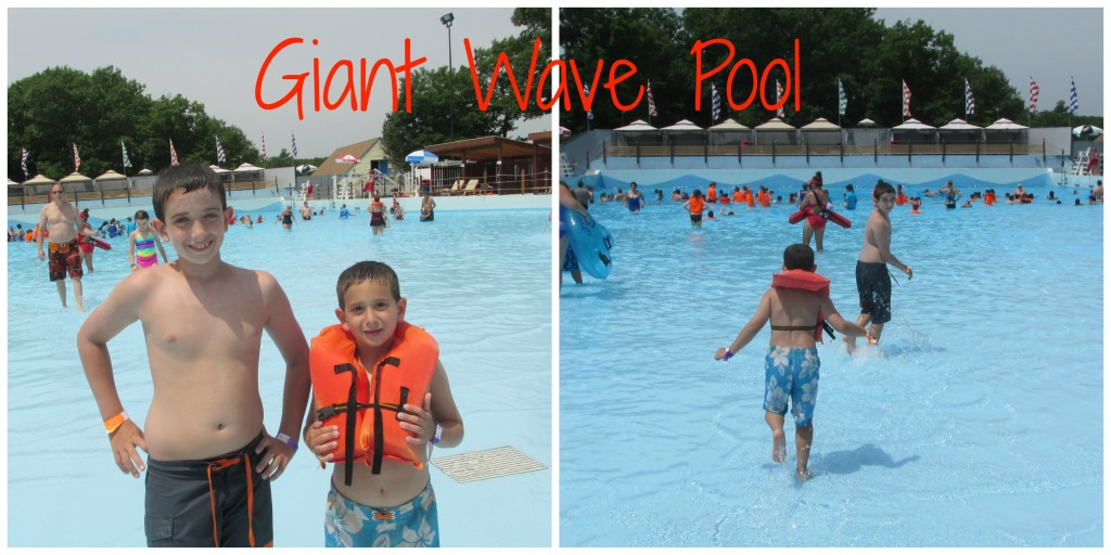 Water Country Giant Wave Pool