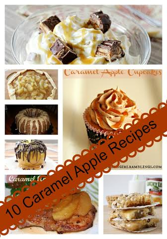 10 Caramel Apple Recipes
