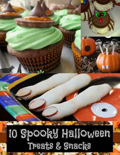 10 Spooky Halloween Treats & Snacks
