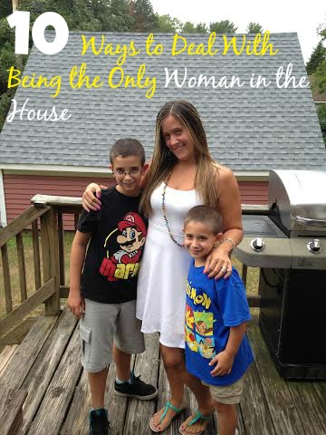 10 Ways to Deal With Being the Only Woman in the House