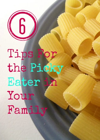 6 Tips For the Picky Eater in Your Family