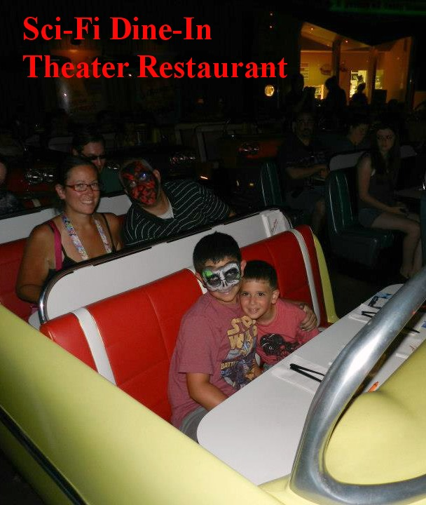 Sci-Fi Dine-In Theater Restaurant