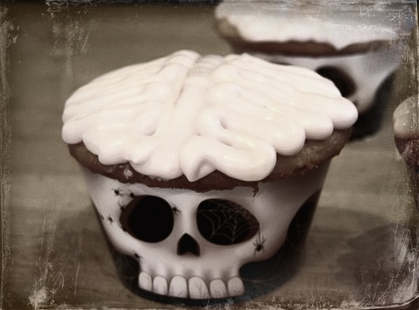 Easy Halloween Treat  Brain Cupcakes
