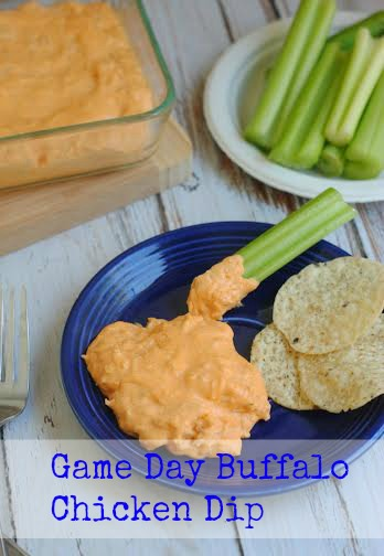 Game Day Buffalo Chicken Dip