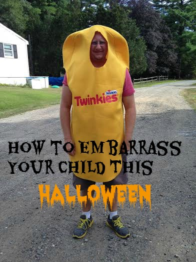 How to Embarrass Your Child This Halloween