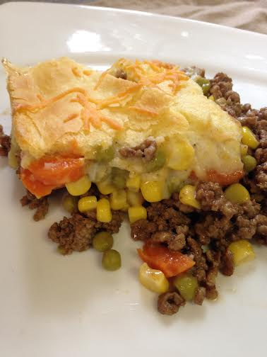 Quick and Easy Shepherd's Pie Completed