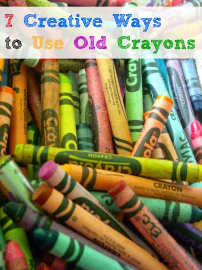 7 Creative Ways to Use Old Crayons