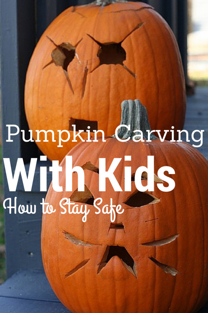 Pumpkin Carving With Kids - How to Stay Safe!