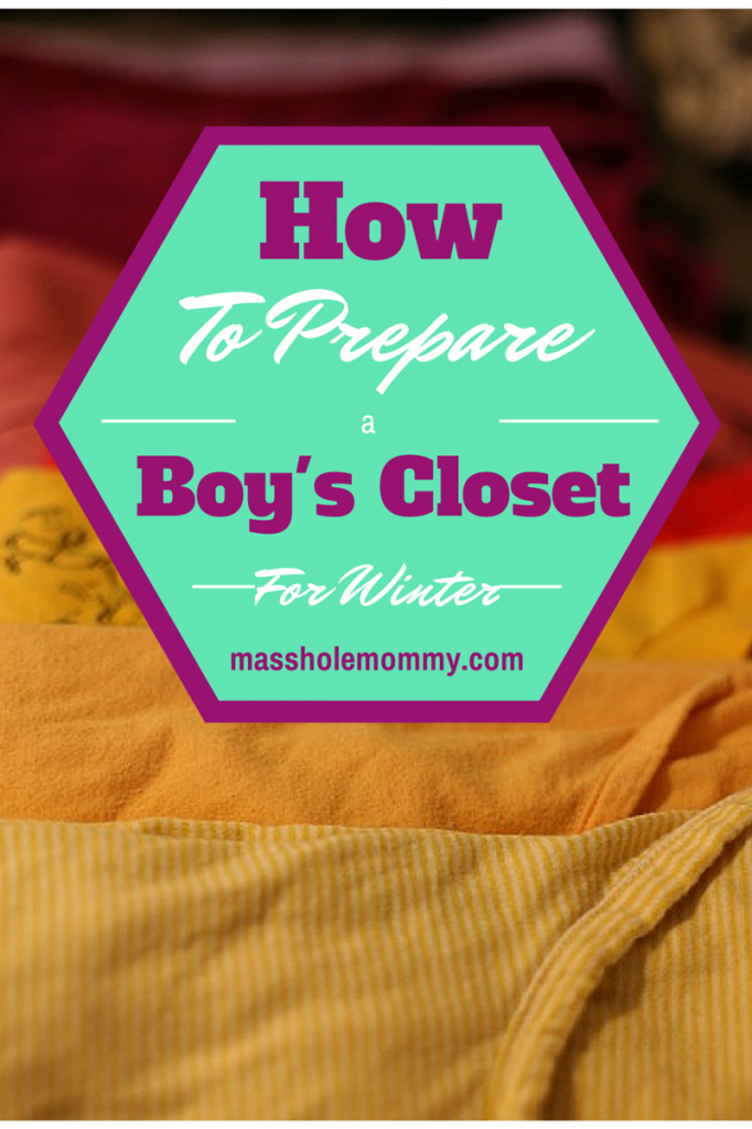How To Prepare a Boy's Closet For Winter