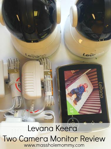 Levana Keera Two Camera Baby Monitoring System