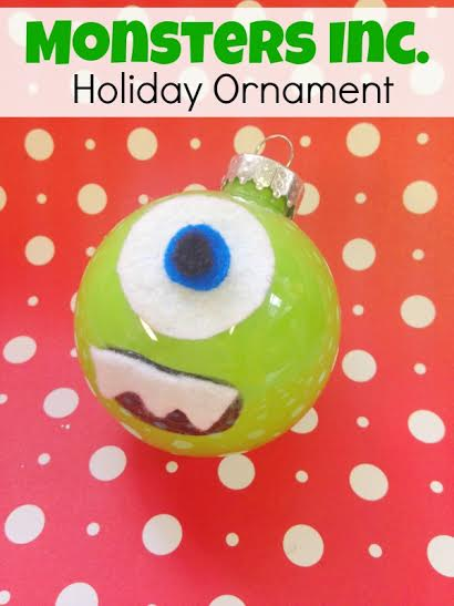 Monsters Inc. Mike Wazowski Holiday Ornament