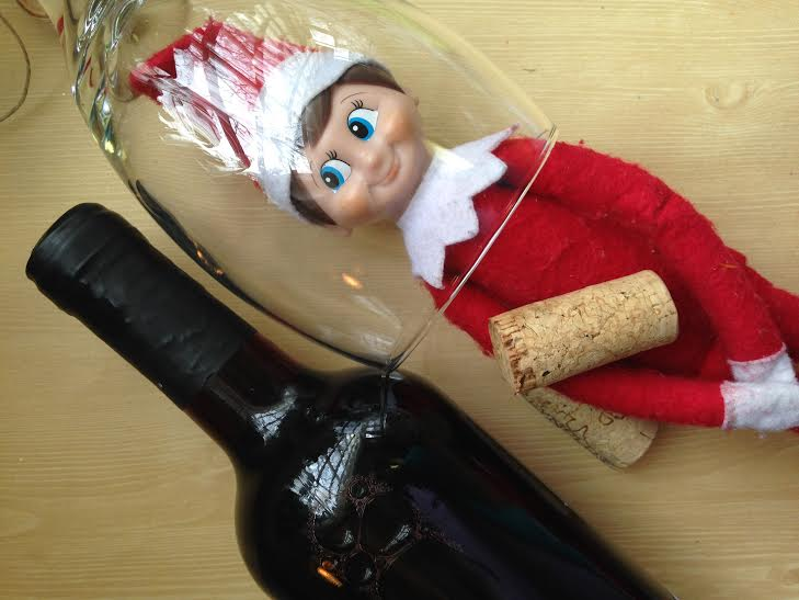 Boozy Elf on the Shelf