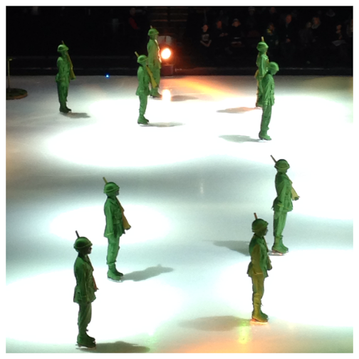 Disney On Ice Worlds of Fantasy Boys Army Guys